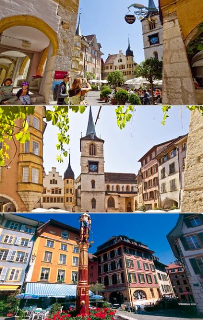 Altstadtführungen durch Biel