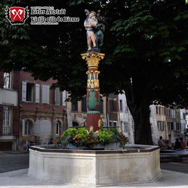 Engelsbrunnen an der Obergasse