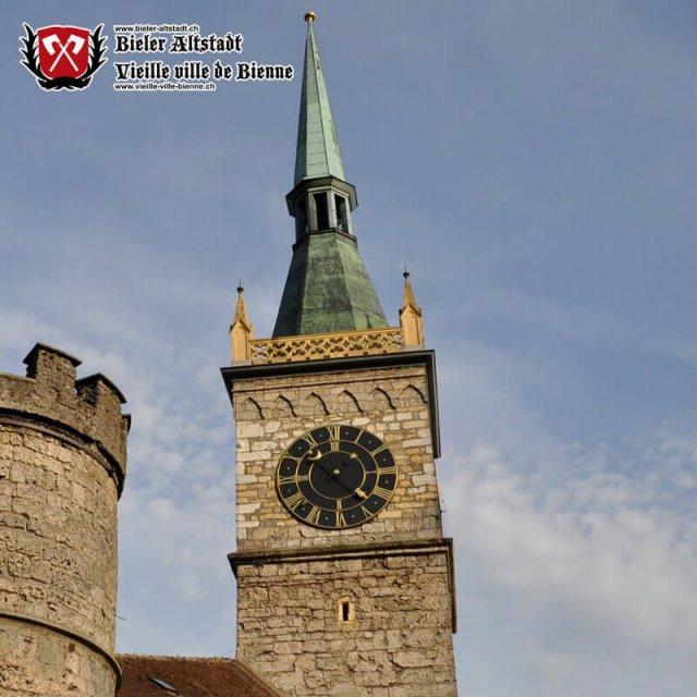 Der Pulverturm, seit 1843 der Zeitglockenturm